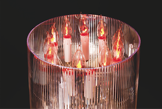 lampe bougies