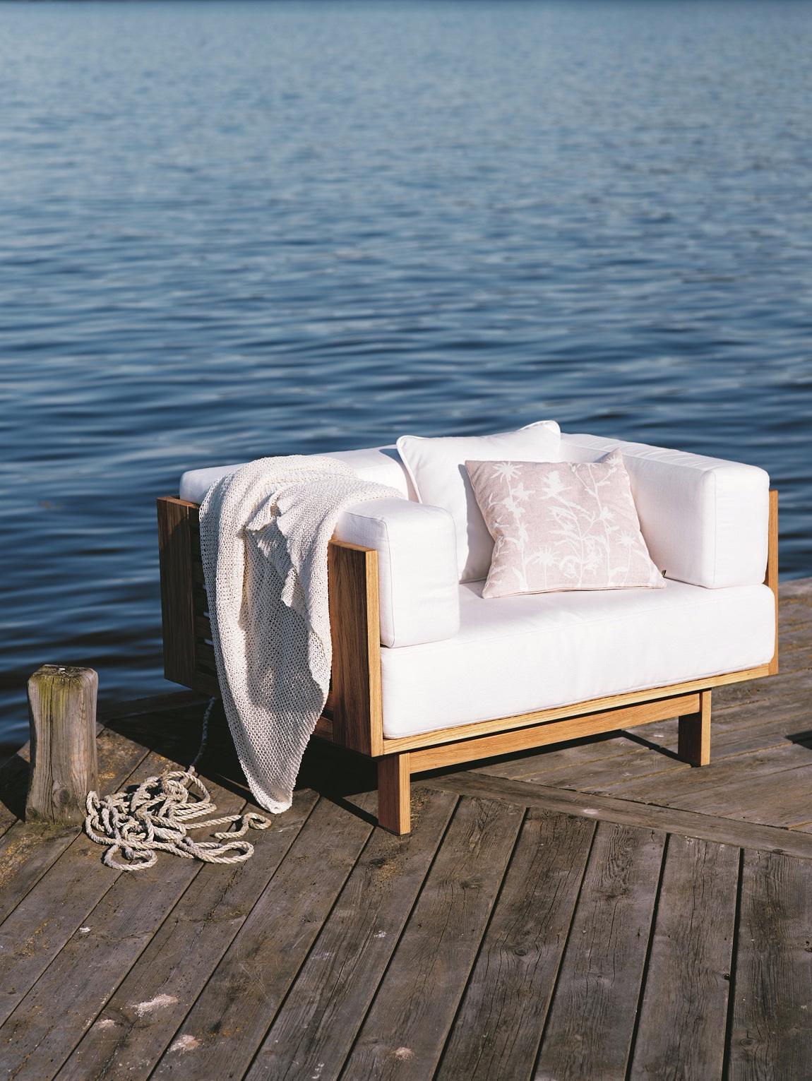 canapé extérieur mer