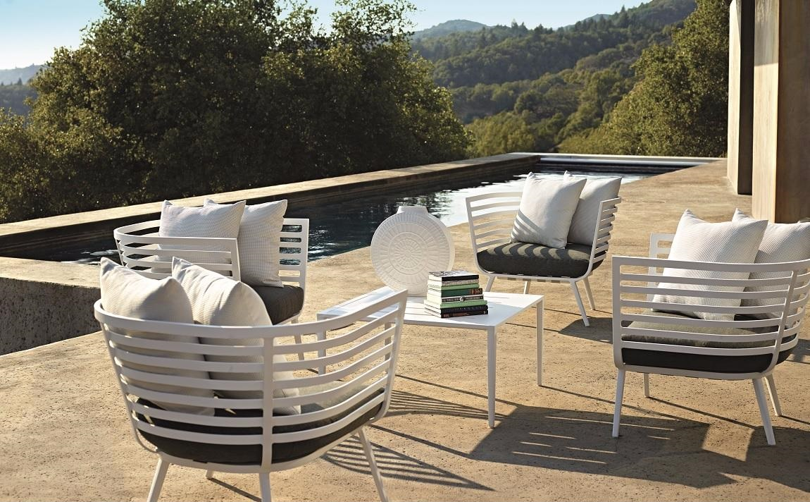 fauteuils jardin terrasse