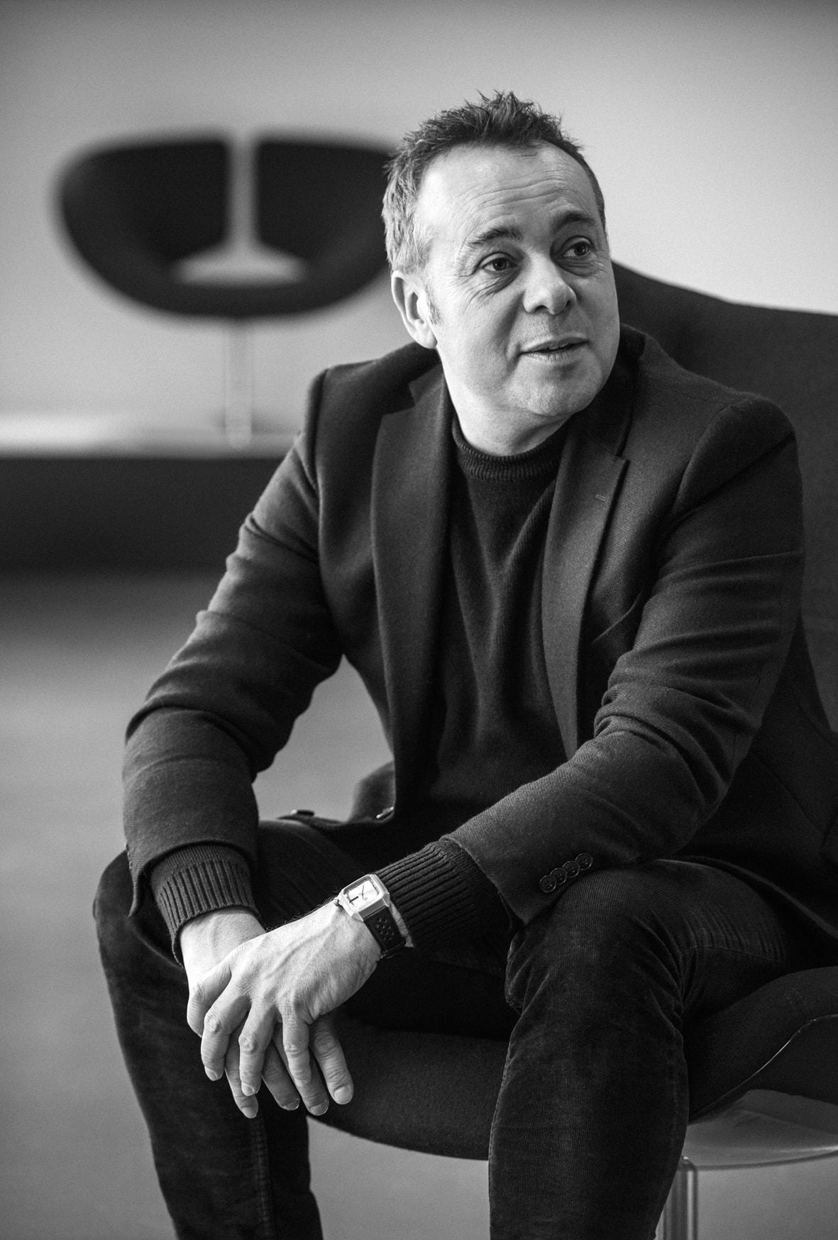 Portrait du designer Patrick Norguet
