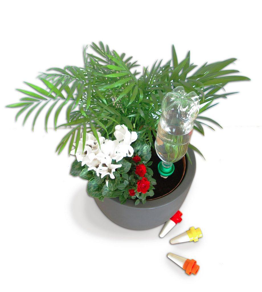 Arroser ses plantes pendant les vacances ext rieurs design for Arrosage automatique plantes interieur