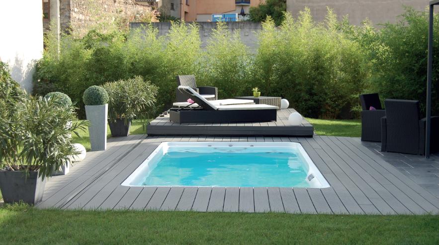 mini piscine une s lection qui fait r ver ext rieurs design. Black Bedroom Furniture Sets. Home Design Ideas