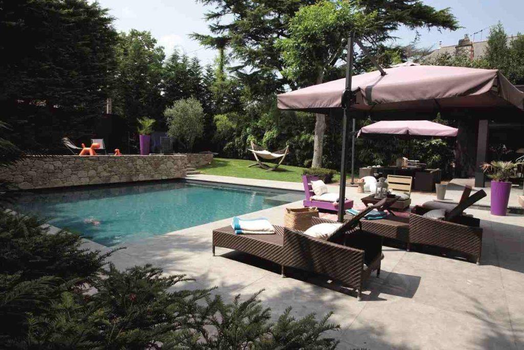 Mini-piscine CARRE BLEU