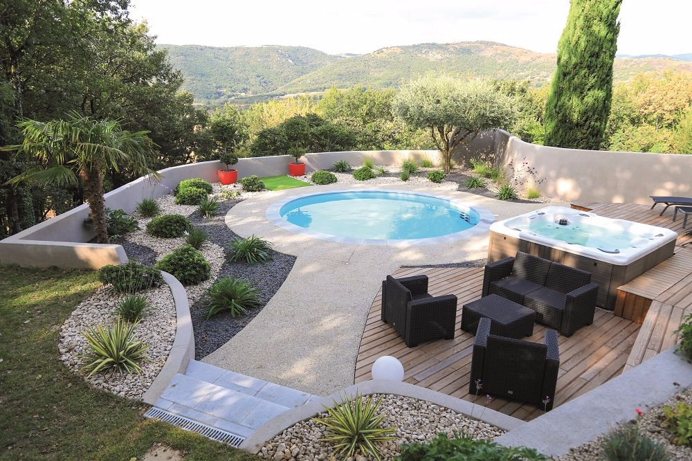 rénovation zone piscine