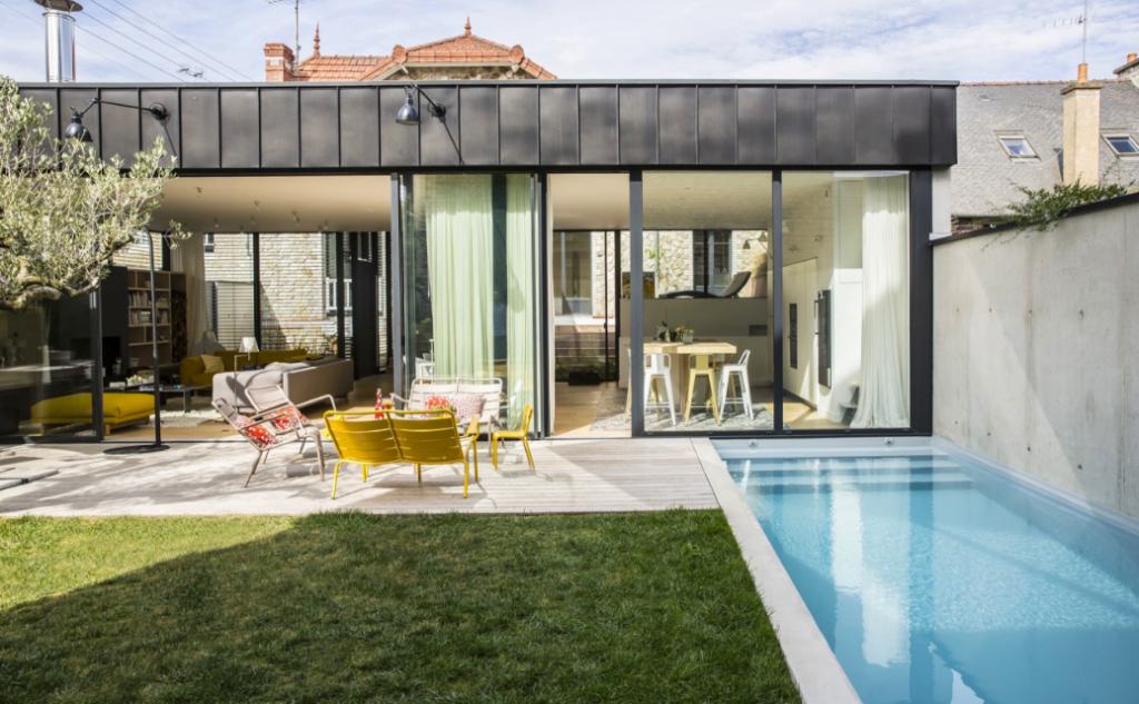 Piscine Archives Extérieurs Design - Carrelage piscine et tapis asymétrique