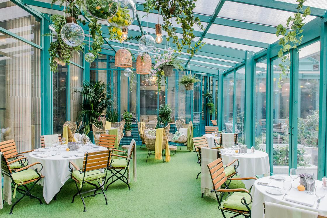 Restaurant ph m re le jardin d hiver ext rieurs design for Restaurant dans jardin paris