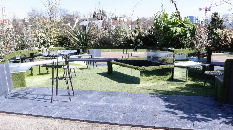 Jardin contemporain : les effets de miroir de Nadea - Extérieurs design