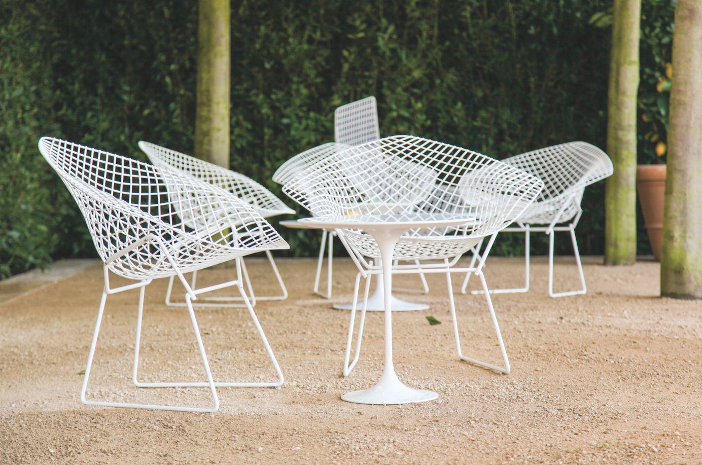 table et chaises jardin