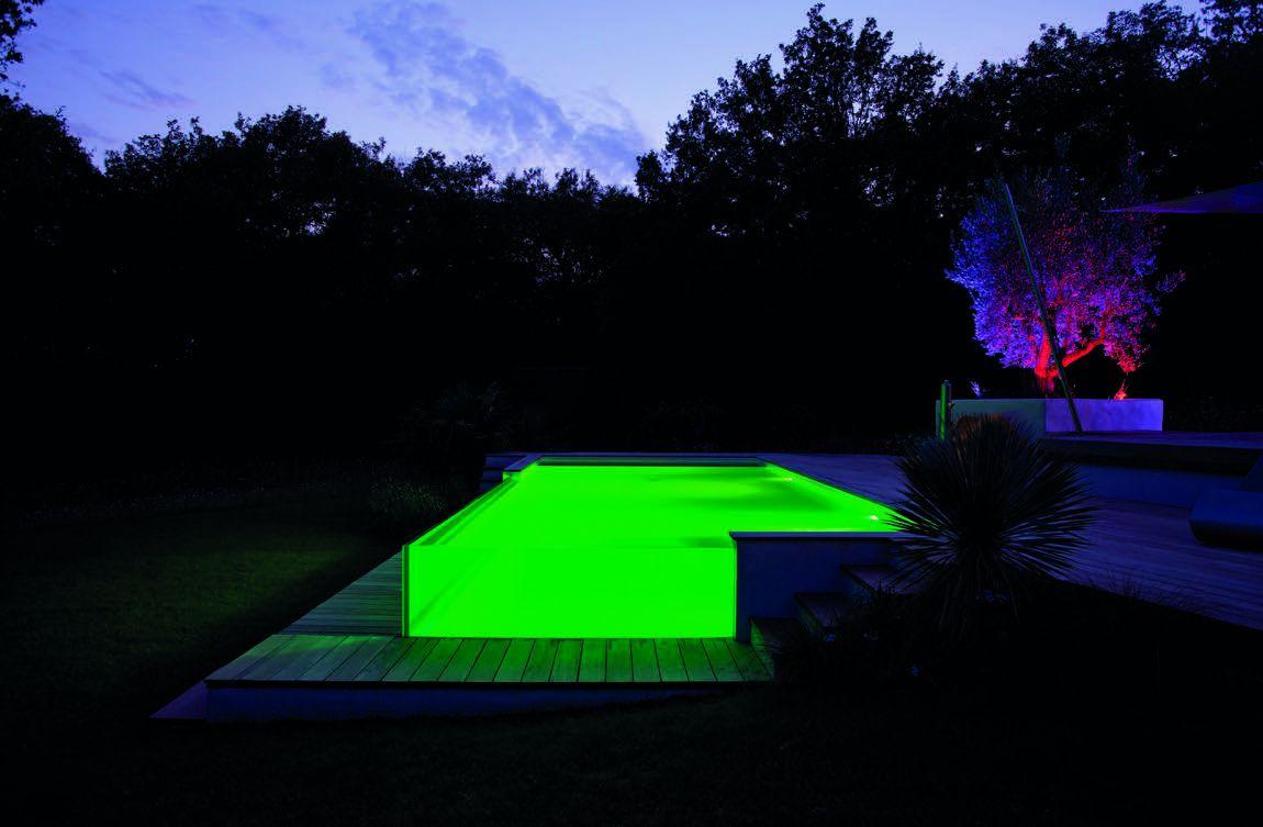 piscine semi enterre couleur
