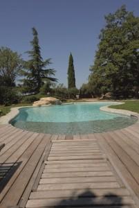 grande piscine jardin