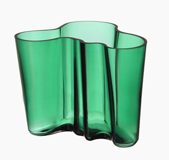 Vase Savoy de la marque IIttala par Alvar Aalto