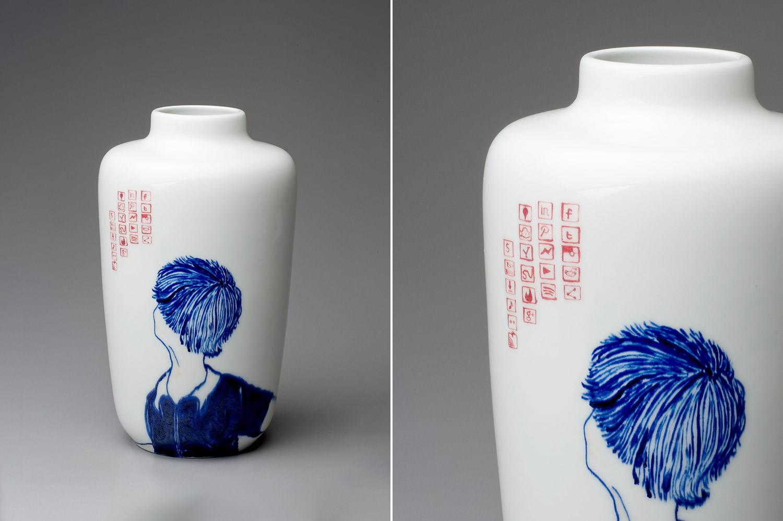 Vase ceramique de Mi-Won McGhee