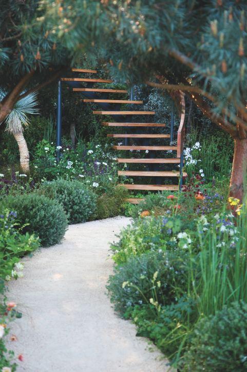 chelsea flower show jardin Nick Bailey