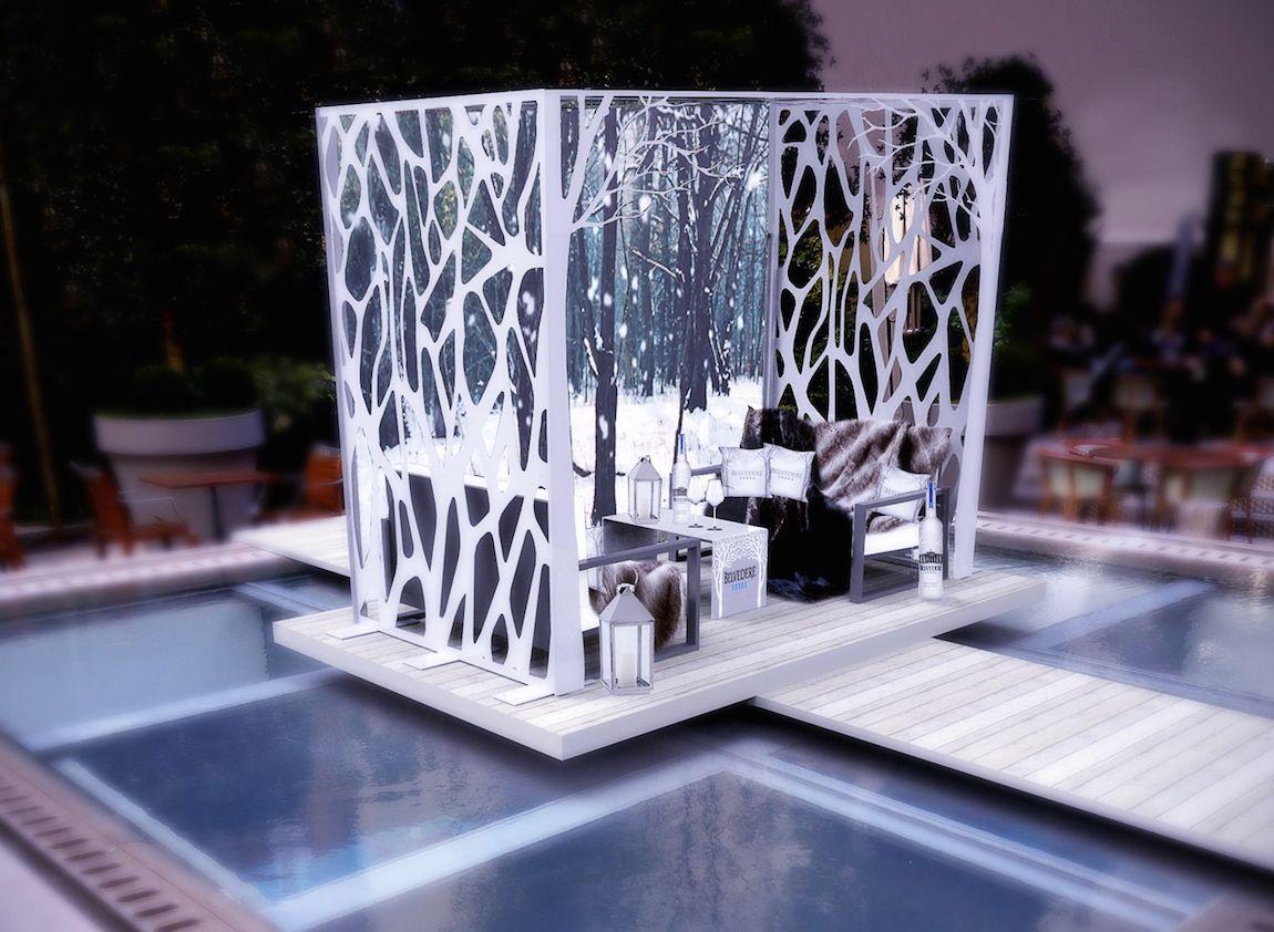 Le jardin d'hiver Belvédère au Royal Monceau