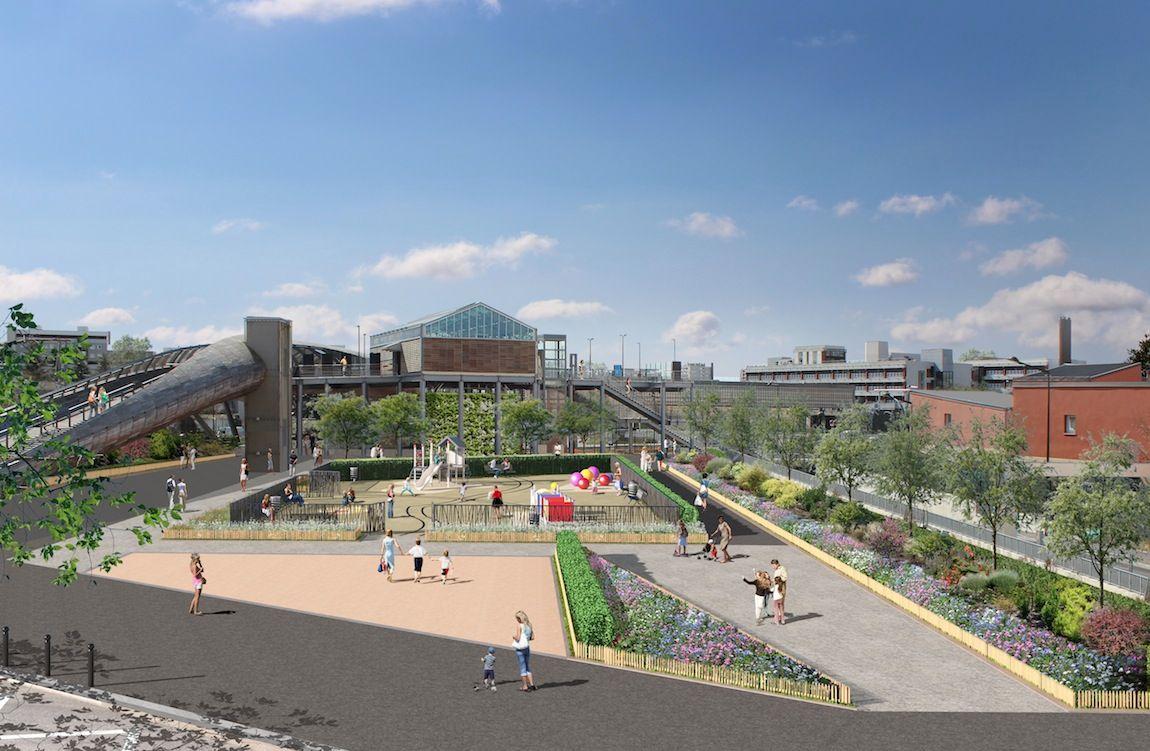 Projet de la gare de Villetaneuse-Université