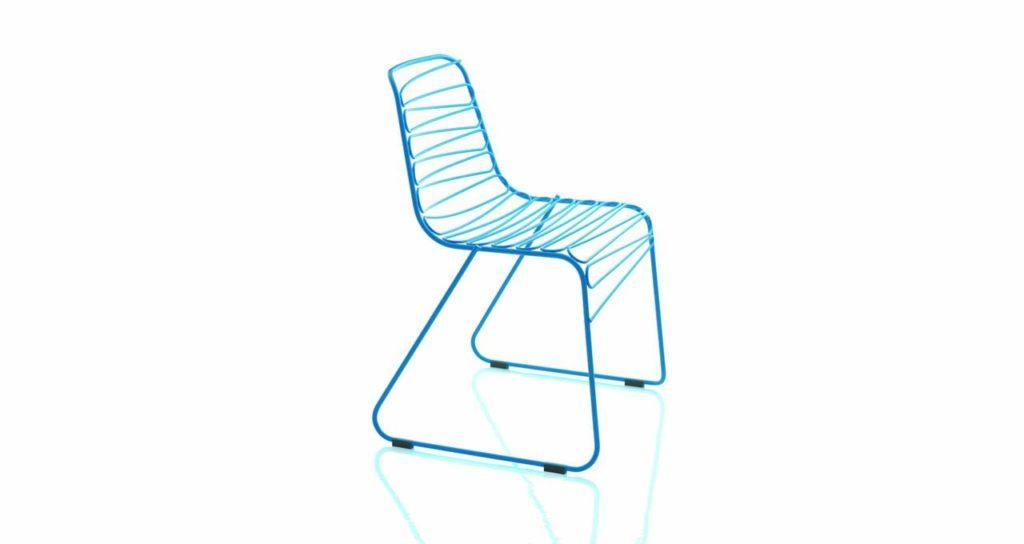 JC Magis chaise Flux fil