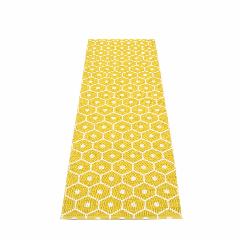 tapis jaune moutarde