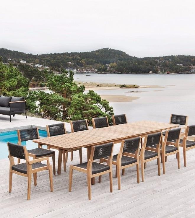 OASIQ - Skagen table extensible et chaise