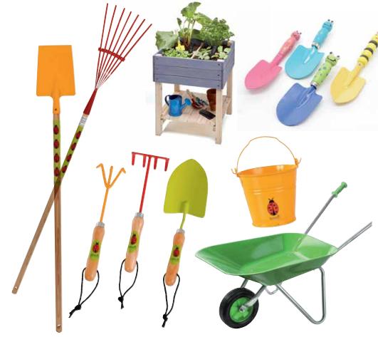 accessoires jardinage enfants