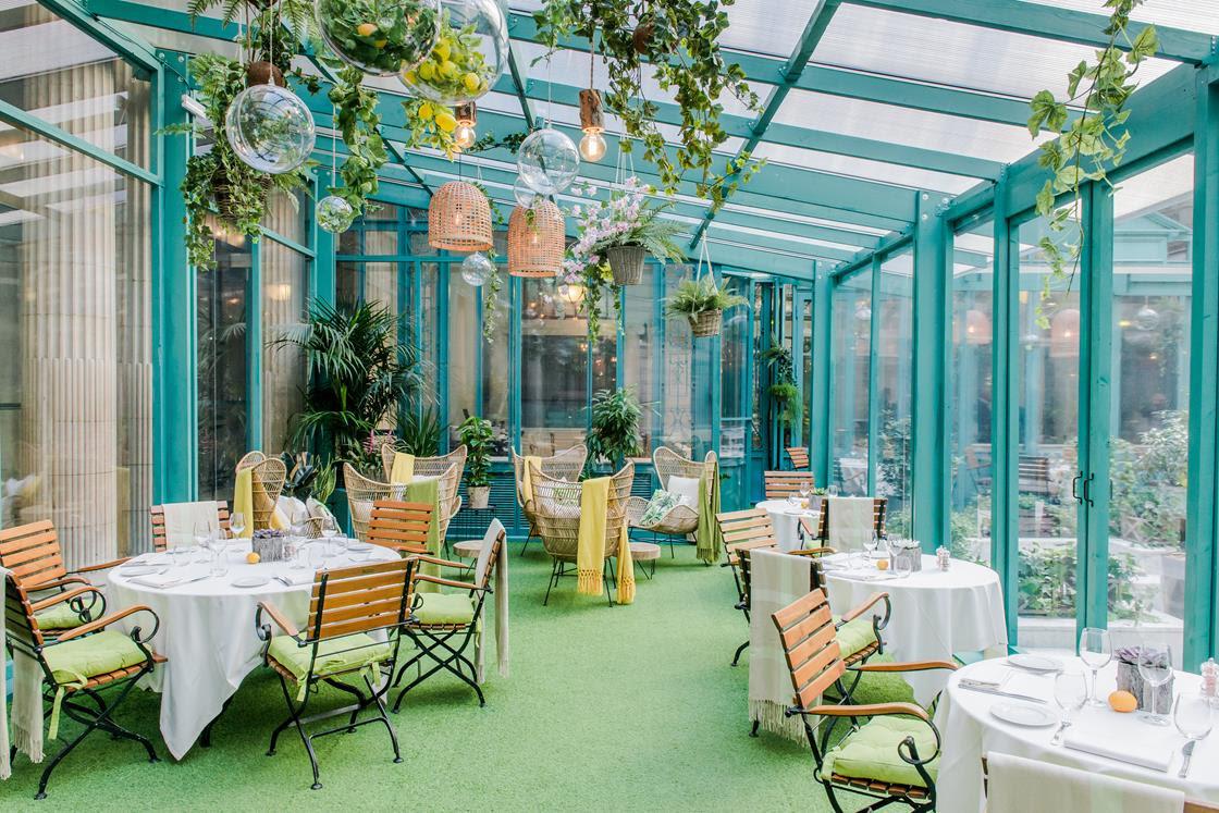 """Restaurant éphémère """"Le Jardin d'hiver"""""""