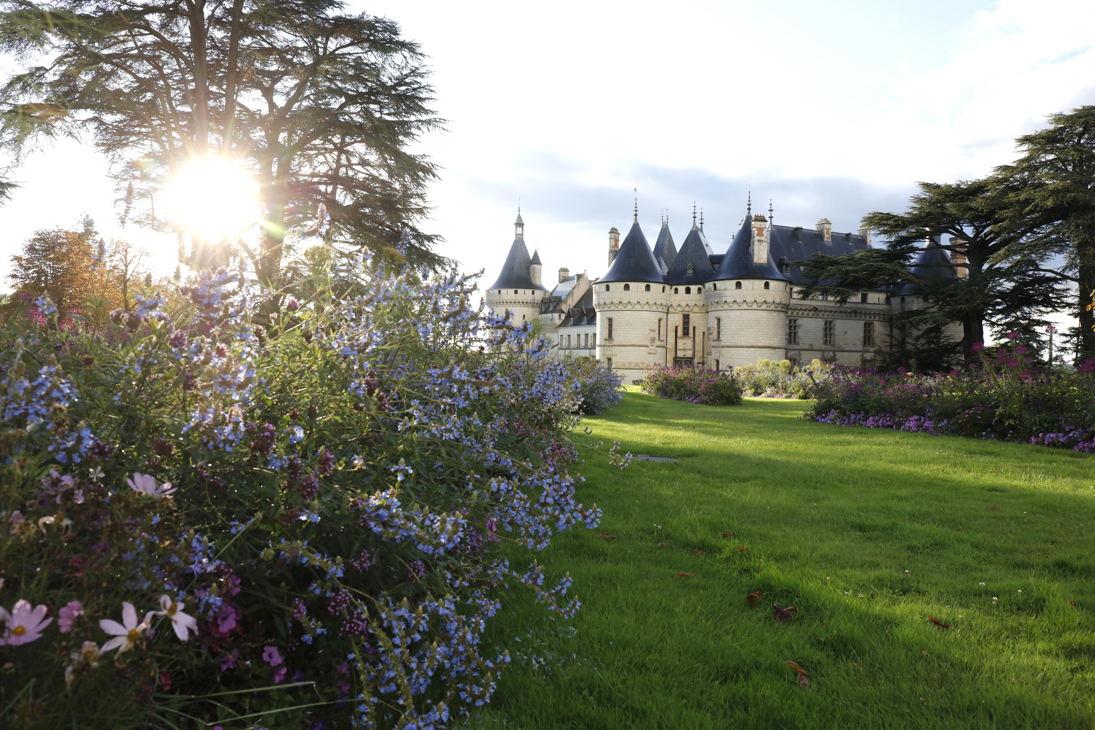 Vue du Château de Chaumont-sur-Loire, photo : Eric Sander