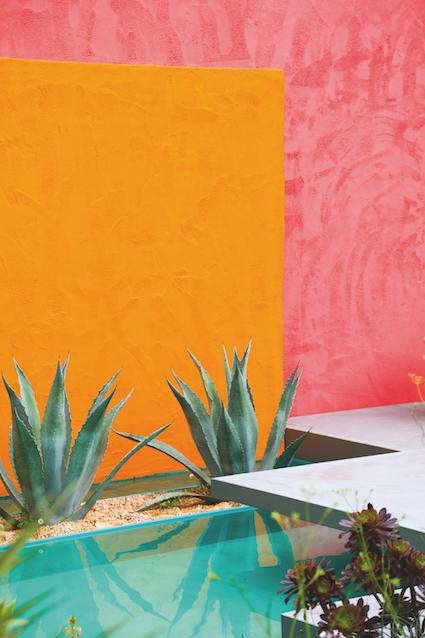 «Sous un ciel mexicain», création Manoj Malde, RHS Chelsea Flower Show 2017 © L. André