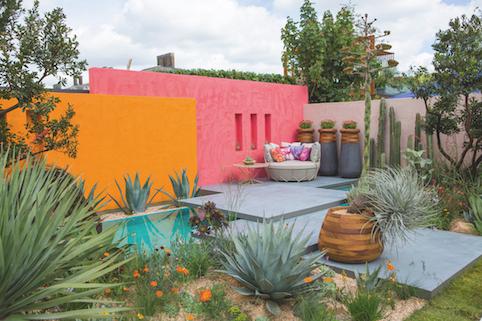 «Sous un ciel mexicain», création Manoj Malde, RHS Chelsea Flower Show 2017 ©Sarah Cuttle