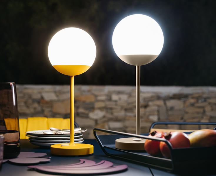 Lampe Mooon, Fermob © Tom Watson