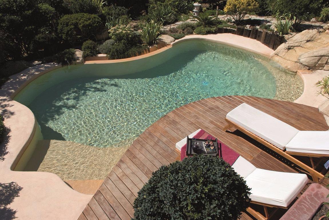piscine carré bleu