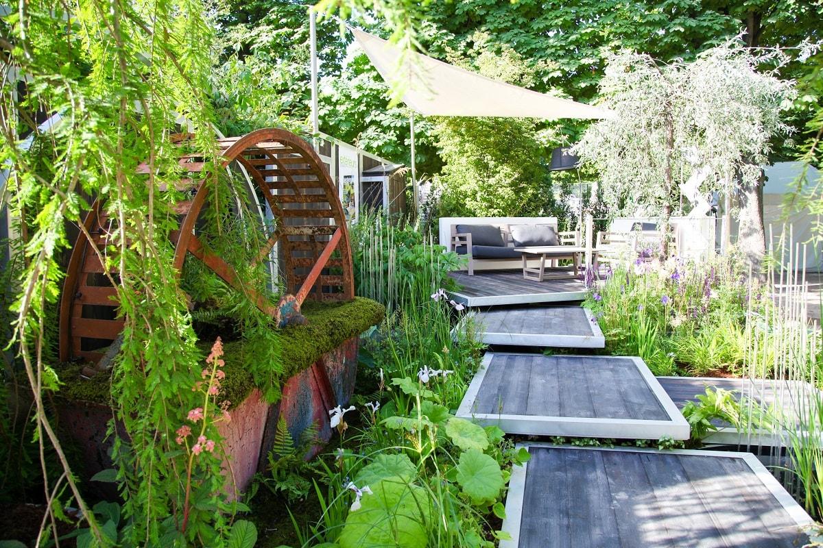jardins jardin la ville verte ext rieurs design. Black Bedroom Furniture Sets. Home Design Ideas