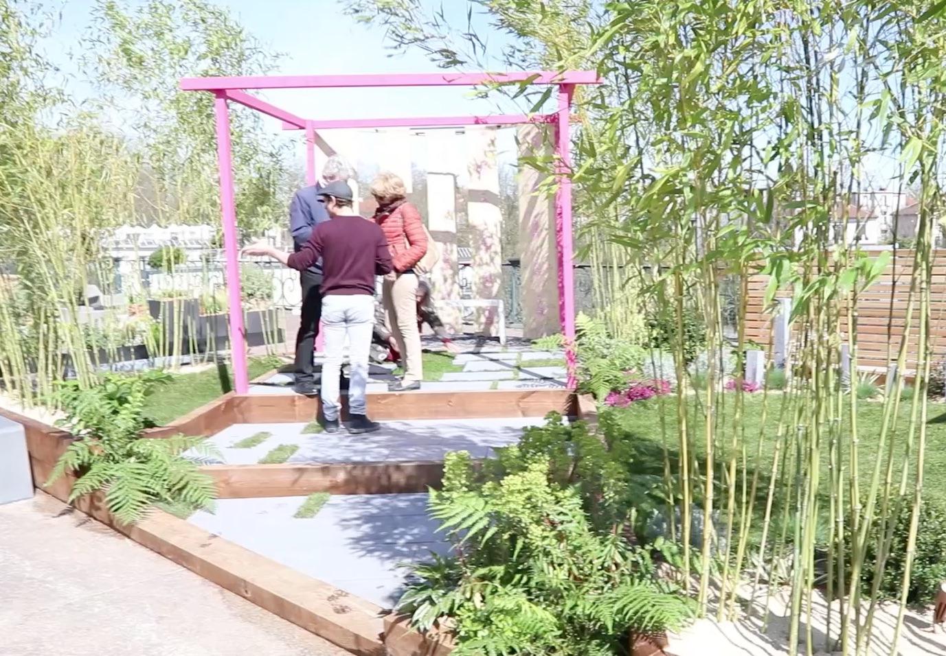 Jardin Vert Oxygène, Jardins en Seine